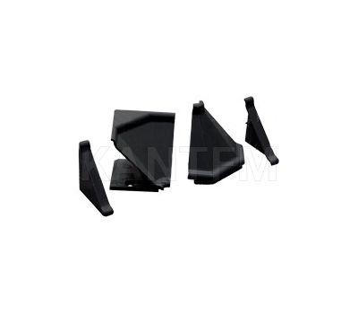 Аксессуары для треугольного плинтуса 32.01R, черный