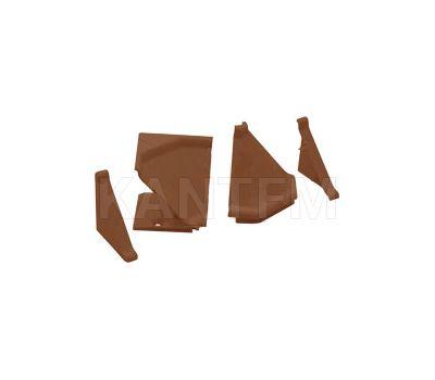 Аксессуары для треугольного плинтуса 32.01R, коричневый