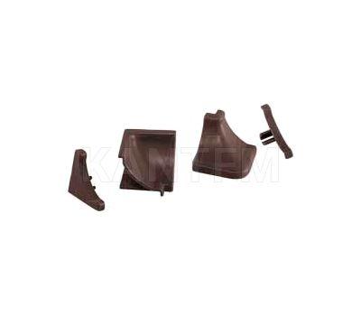 Аксессуары для треугольного вогнутого плинтуса 50.300R.BRMR, бронза