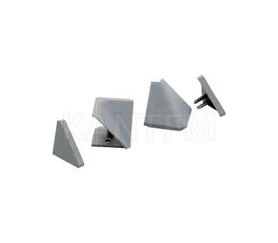 Аксессуары для треугольного плинтуса 67.300, серый