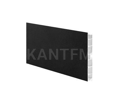 Цоколь пластиковый (высота 100, длина 4000 мм), черный
