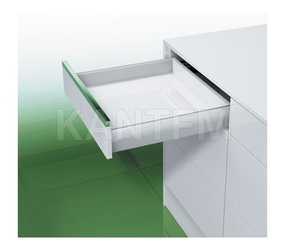 [S] Стандартный ящик без рейлингов, tipmatic plus, 500 мм, белый