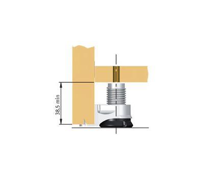 INTEGRATO Опора регулируемая с шипами, регулировка 25 мм