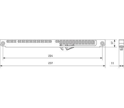 SLX Механизм плавного закрывания для ящиков